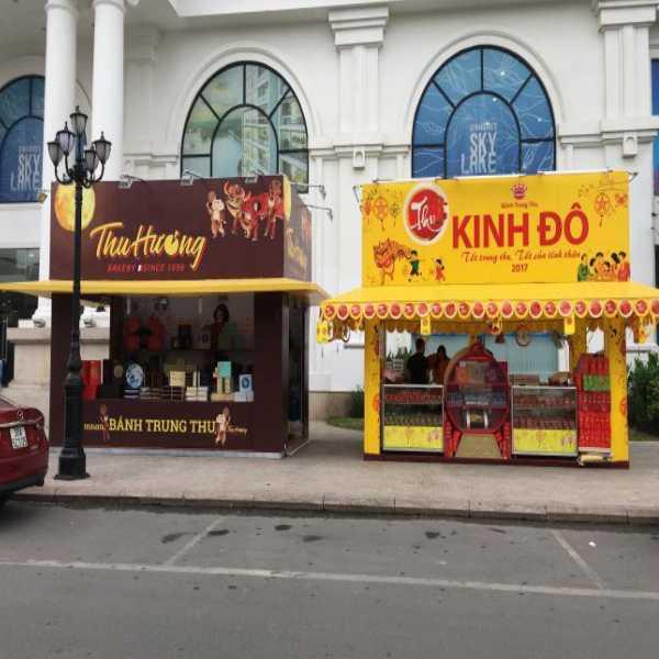 cửa hàng bánh kinh đô