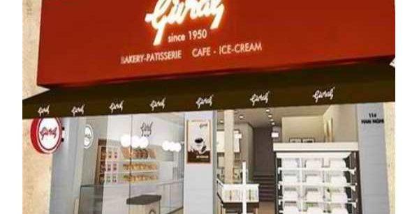 cửa hàng bánh trung thu Givral